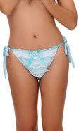 Bikini Gigi Satin Panties with Lace