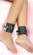 3 inch Leather Ankle Cuffs (pair)
