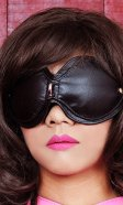 Leather Blindfold Goggles