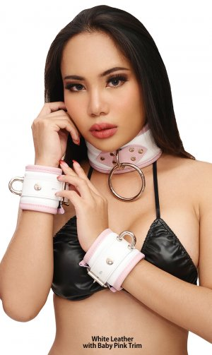 3-piece Luxury Padded Collar and Cuffs Set