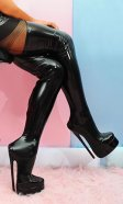 9 inch PVC Tessa Bed Boots