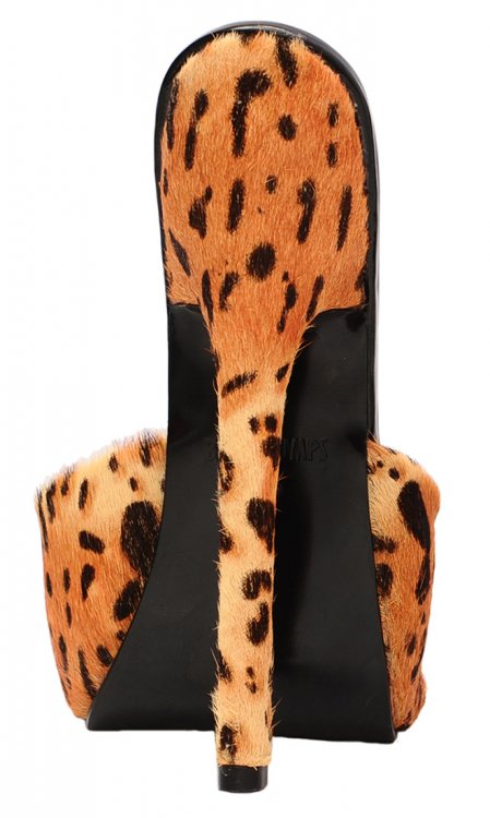 7 inch Dark Leopard Skyhigh Bedheels