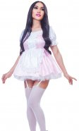 Polly-Pretty Gingham Sissy Uniform