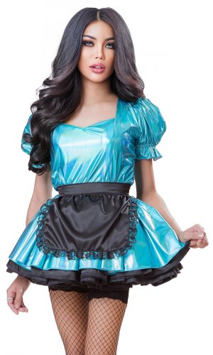 Scrumptious Holographic French Maid