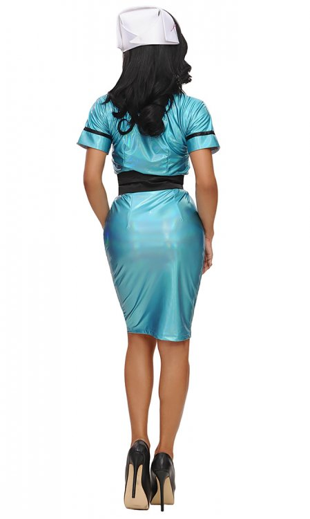 Holographic Matron Nurse Uniform