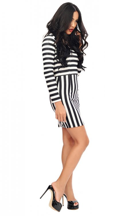 Tabitha Stripe Dress