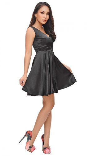 Moira Satin Dress