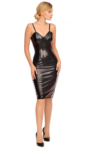 Jarisa Leatherette Dress