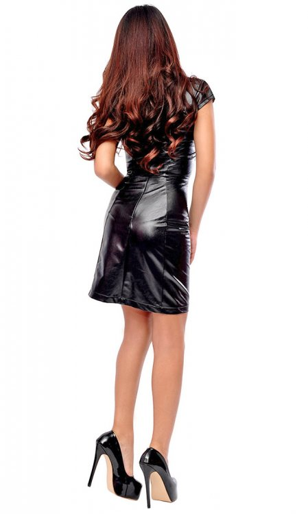 Harmony Leatherette Dress