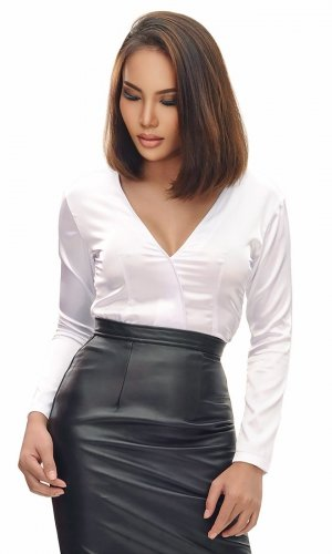 Lyka Satin Blouse
