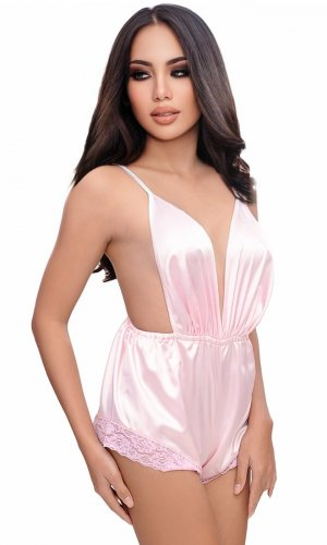 Petal Satin Teddy