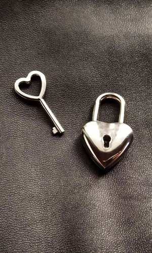 Heart Lock (with key)