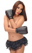 Leather Puppy Dog Mitts