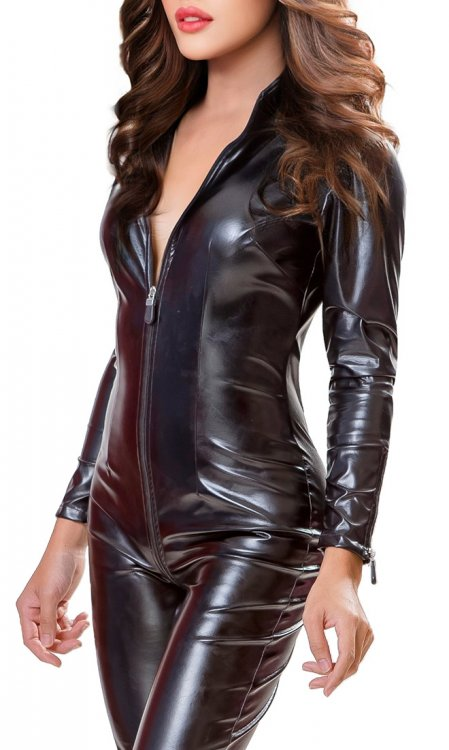 Leatherette Luxury Catsuit