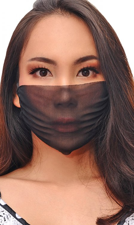 Soft-net Face Mask
