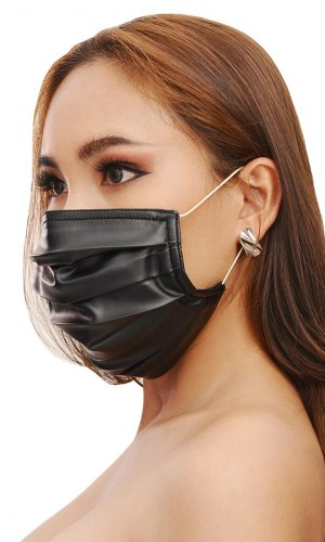 Leatherette Face Mask