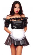 Plastic Paris Maid Uniform