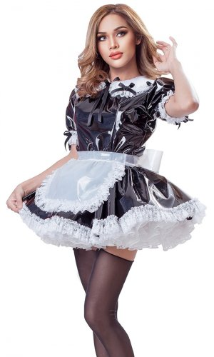 Adaline Plastic French Maid