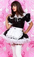 Prettie PVC French Maid