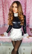 Poppie PVC French Maid