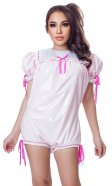 Twixxie PVC and Satin Romper