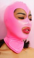PVC Eyes & Mouth Hood