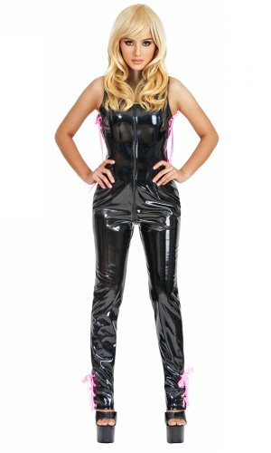 Luxury Sleeveless PVC Catsuit