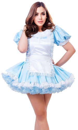 Alice-in-Wonderland Short PVC Dress