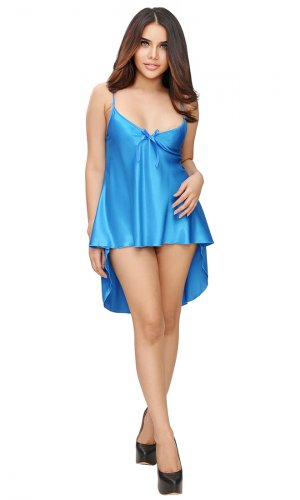 Rannie Long Satin Camisole