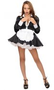 Delfina Satin French Maid