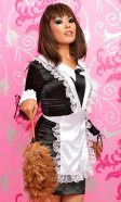 Satin Traditional House Maid