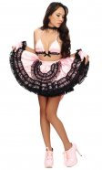 Twinkle 2-piece Satin French Maid