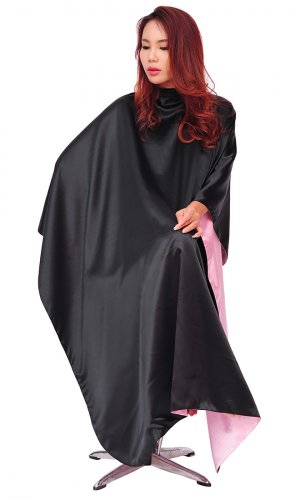 Elegance Salon Cape (PVC or Satin)