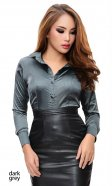 Satin Secretarial Blouse