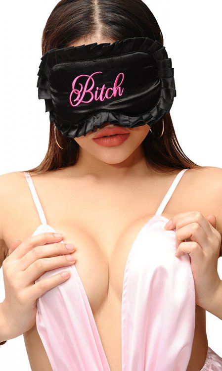 Naughty Satin Eye Mask