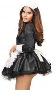 Satin Elegant French Maid