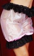 Shimmering glass-silk Bloomers