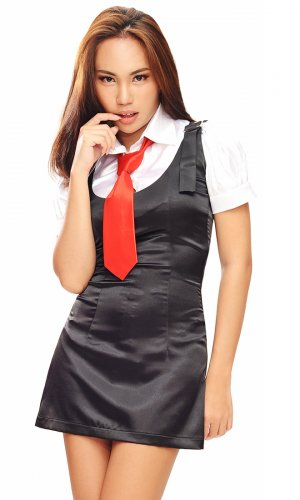 Olivia Satin School Girl