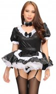 Nyla Shiny French Maid