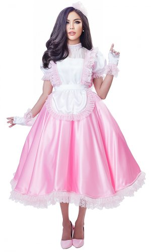 Isabella Long Sissy Dress