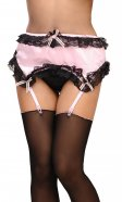 Cinderella Satin Suspender Belt