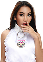 Trainer Bib with Lockable Collar