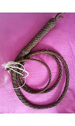 Luxury Leather Bull Whip