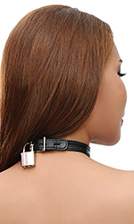 Sweet Leather Lock Collar