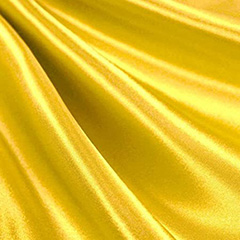 lemon yellow satin