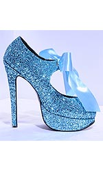 "5"" Sparkling Serving Shoes"