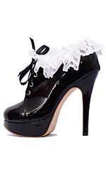 "5"" Frilly Maid Shoes"