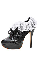 "5"" Lace Serving Shoes"