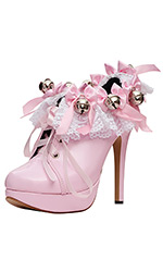 "5"" Prissy Bells Shoes"