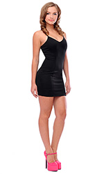 Ursula Spandex Mini Dress